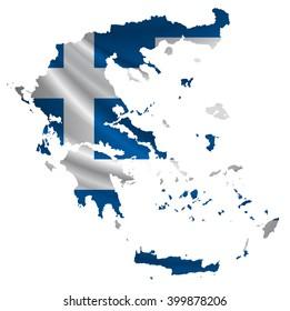 Greece.Flag map icon