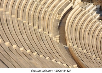 greek amphitheater to the Acropolis of Athens in Greece