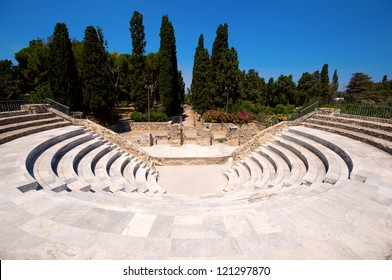 Greek amphitheater in Kos, Greece