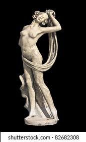 Greek archaic statue of Aphrodite located at Kefalonia island in Greece