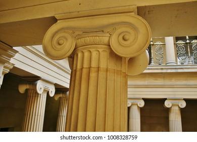 Greek Architecture - Pillared Hall