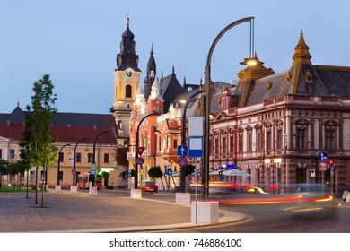 Greek Catholic Bishop Palace in Oradea, Romania