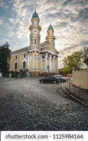 Greek Catholic Holy Cross Cathedral, Uzhhorod.Ukraine
