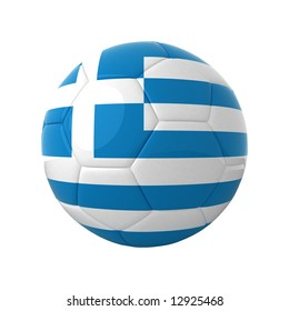 Greek football for europe's championship.