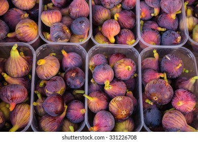 Greek fresh figs purple and juicy ready for sale