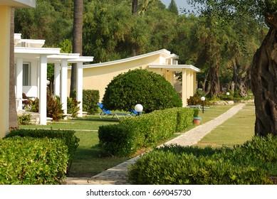Greek gardens and plants