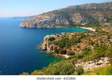 greek great place in thassos island