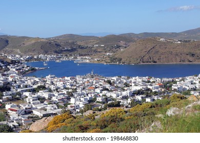 the greek island of Patmos