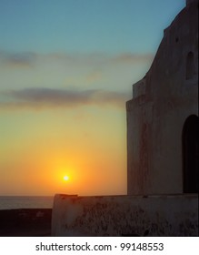 Greek Island Sunset