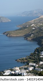 Greek Landscape of Leros Island