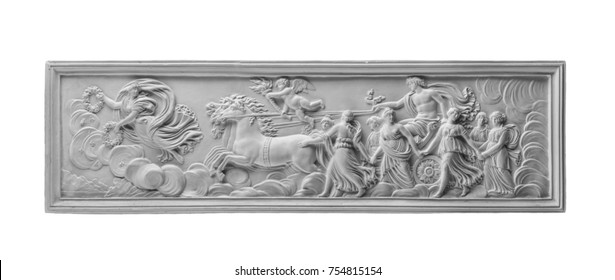 Greek mythology relief