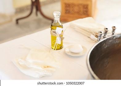 Baptism Oil Images, Stock Photos & Vectors | Shutterstock
