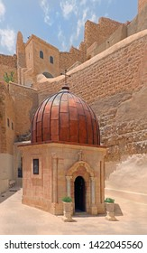 Greek Orthodox Monastery of Mar Saba in Judean Desert, Israel