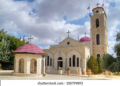 Greek Orthodox monastery on Shepherds Fields in Beit Sahour a Palestinian town east of Bethlehem, Palestine.