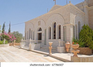 Greek Orthodox monastery on Shepherds Fields in Beit Sahour a Palestinian town east of Bethlehem, Palestine