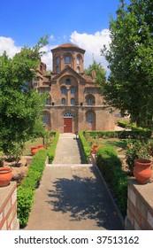 Greek orthodox monastery in Thessaloniki Greece