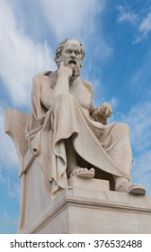 Greek Philosopher Aristoteles Sculpture