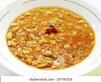 Greek Traditional Bean Soup