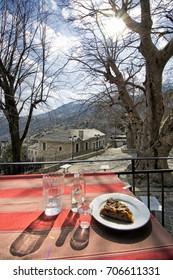 Greek village in Epirus Syrako