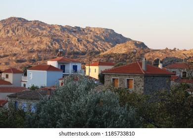 Greek Village at Sun Rise