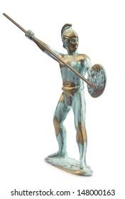 Greek warrior figurine