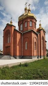 Greek-Catholic church of Intercession of Virgin Mary in Karaganda. Kazakhstan