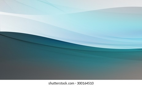 Green abstract illustration background or wallpaper.