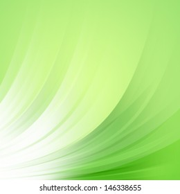 Green abstract with lighting Design