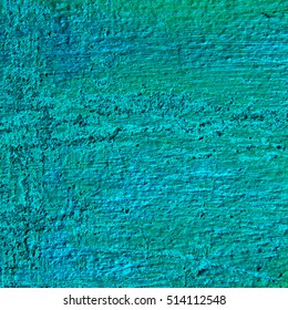 green abstract texture background. Vintage wall