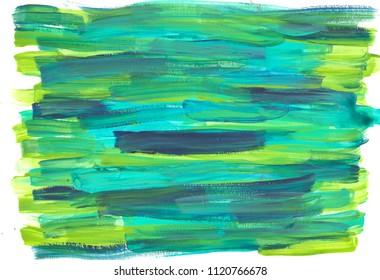 green acrylic background