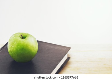 green apple and the old book