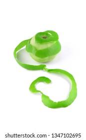 Green Apple Peeled