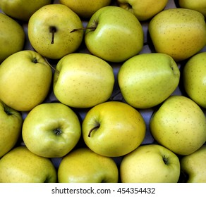 Green Apples at a greengrocer in France