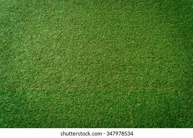 Green artificial grass background