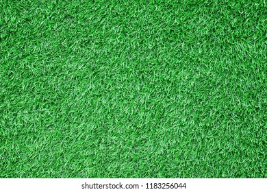 Green artificial grass texture for background