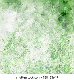 Green background - abstract grass scene with painted effect