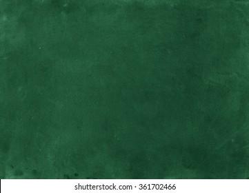 Green background. Chalkboard