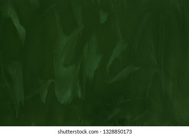 Green background of chalkboard texture