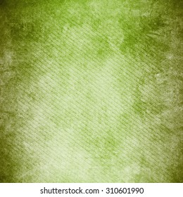 green background , Old vintage texture