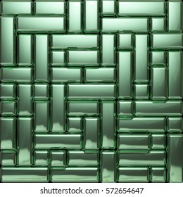 green background rectangle
