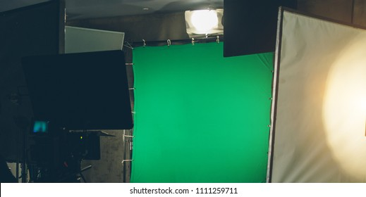 green background in the shooting pavilion