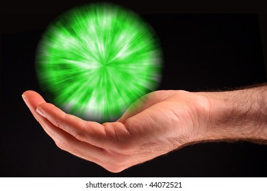 Green Ball of Light