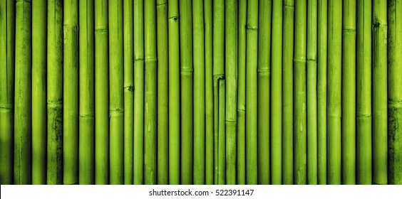 Green Bamboo Fence Texture Background Frame Transparent Clip Art