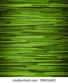 Green bamboo texture with natural patterns
