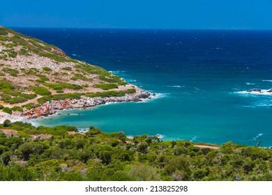 Green bay near Agia Pelagia, Cree, Greece