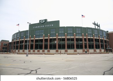 GREEN BAY, WISCONSIN - APRIL 23: Historic Lambeau Field, home of the Green Bay Packers and also known as The Frozen Tundra, on April 23, 2010 in Green Bay, Wisconsin.