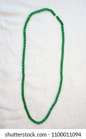 green bead  mardi gras fat tuesday carnivale holiday