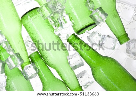 Clear Plastic Beer Bottles