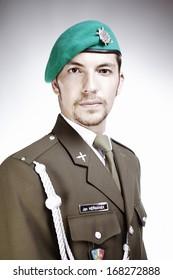 Green beret soldier