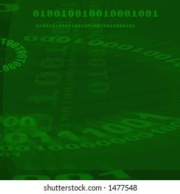 Green, binary numbers